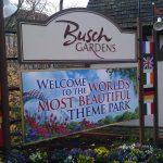 Busch Gardens Entrance Sign
