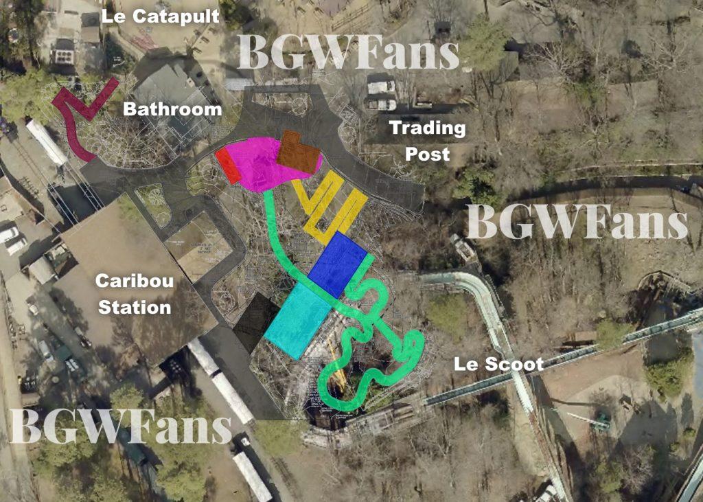 Composite Busch Gardens Williamsburg 2017 Site Plan