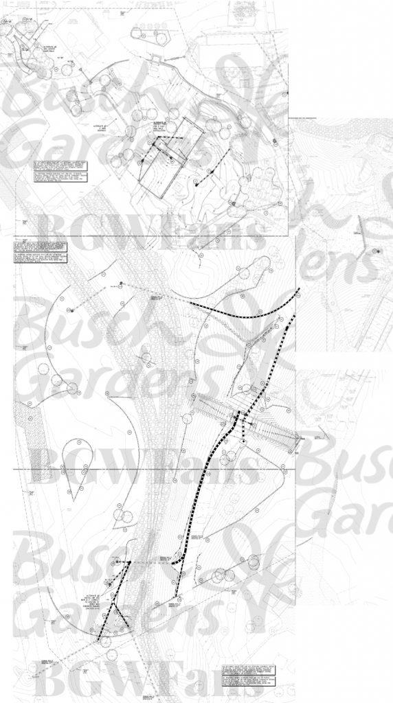 Busch Gardens Williamsburg 2017 Stitched Site Plan