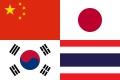 Asia Flag