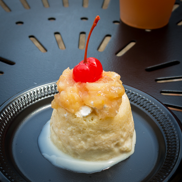 Busch Gardens Williamsburg Food and Wine Festival 2016 Tres Leche con Mermelada de Piña