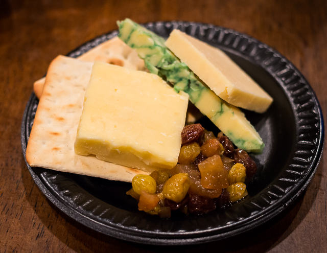 Busch Gardens Williamsburg Food and Wine Festival 2016 Irish Cheese Sampling