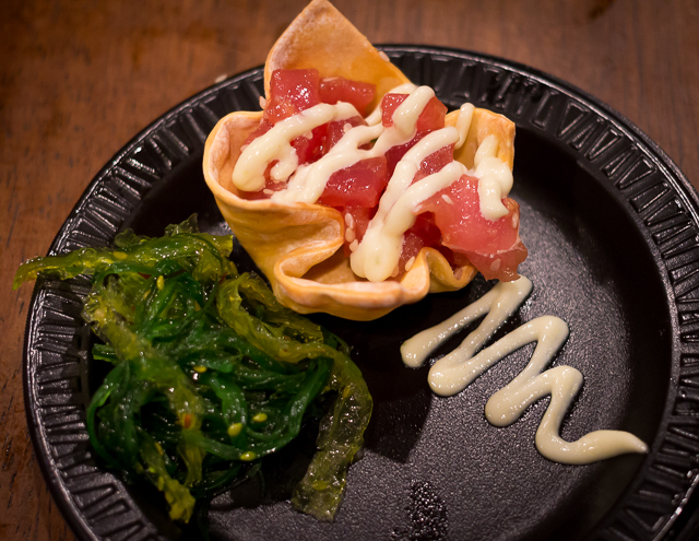 Busch Gardens Williamsburg Food and Wine Festival 2016 Tuna Poke
