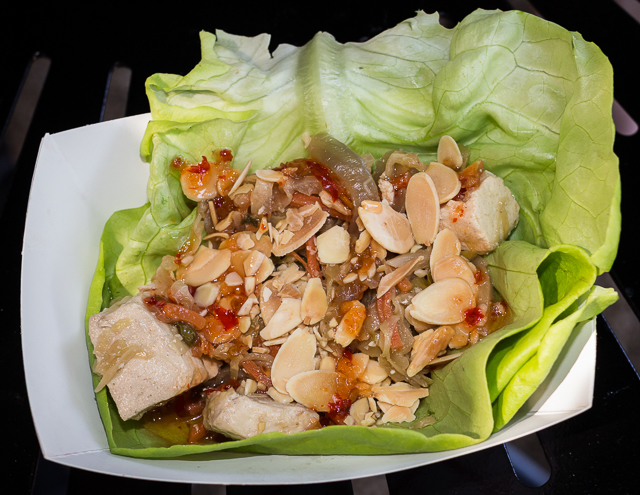 Busch Gardens Williamsburg Food and Wine Festival 2016 Lettuce Wrap