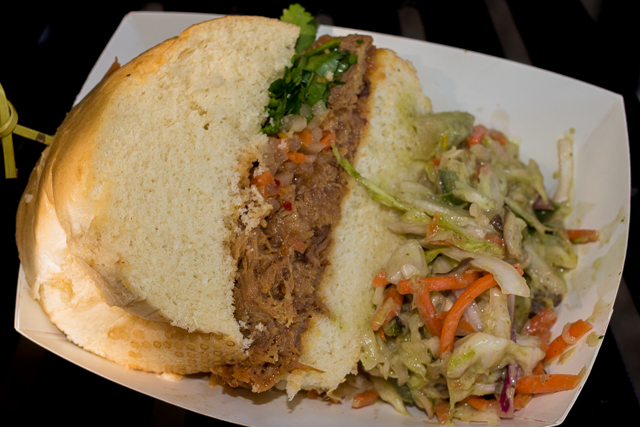 Busch Gardens Williamsburg Food and Wine Festival 2016 Bánh Mì