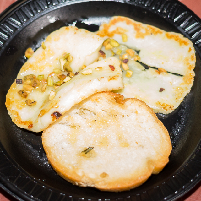 Busch Gardens Williamsburg Food and Wine Festival 2016 Halloumi