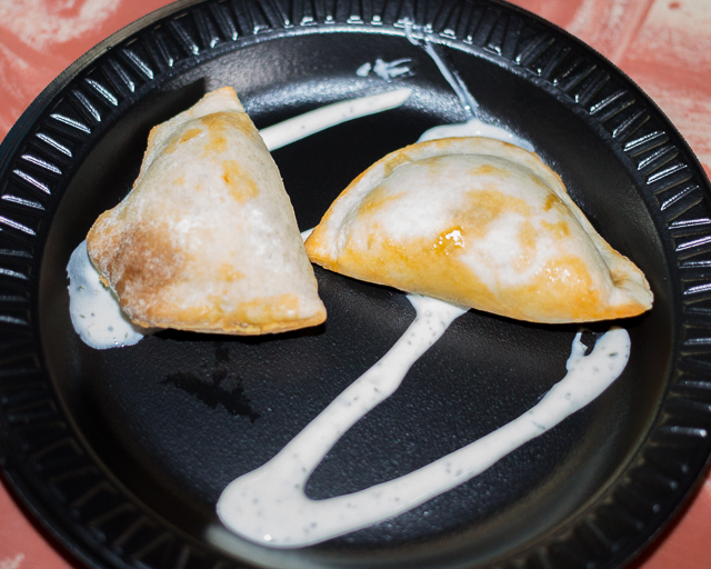 Busch Gardens Williamsburg Food and Wine Festival 2016 Chorizo Empanada