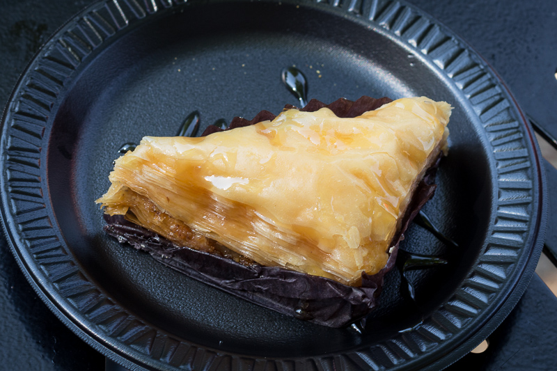 Busch Gardens Williamsburg Food and Wine Festival 2017 Baklava