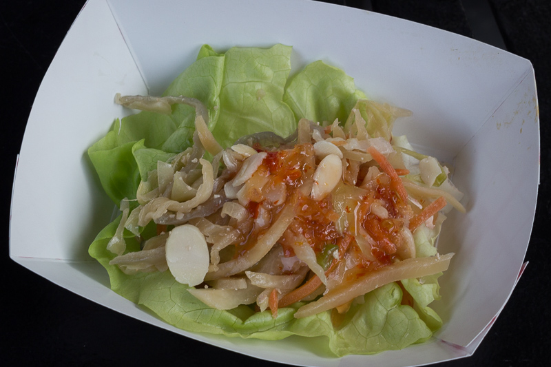 Busch Gardens Williamsburg Food and Wine Festival 2017 Lettuce Wrap