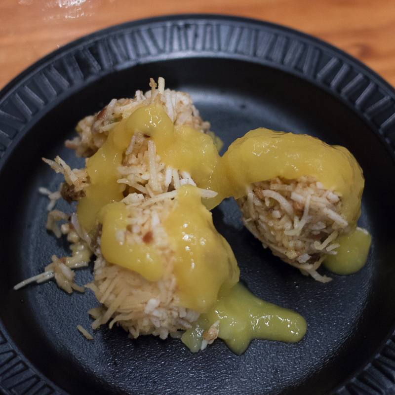 Busch Gardens Williamsburg Food and Wine Festival 2017 Mango Burfi