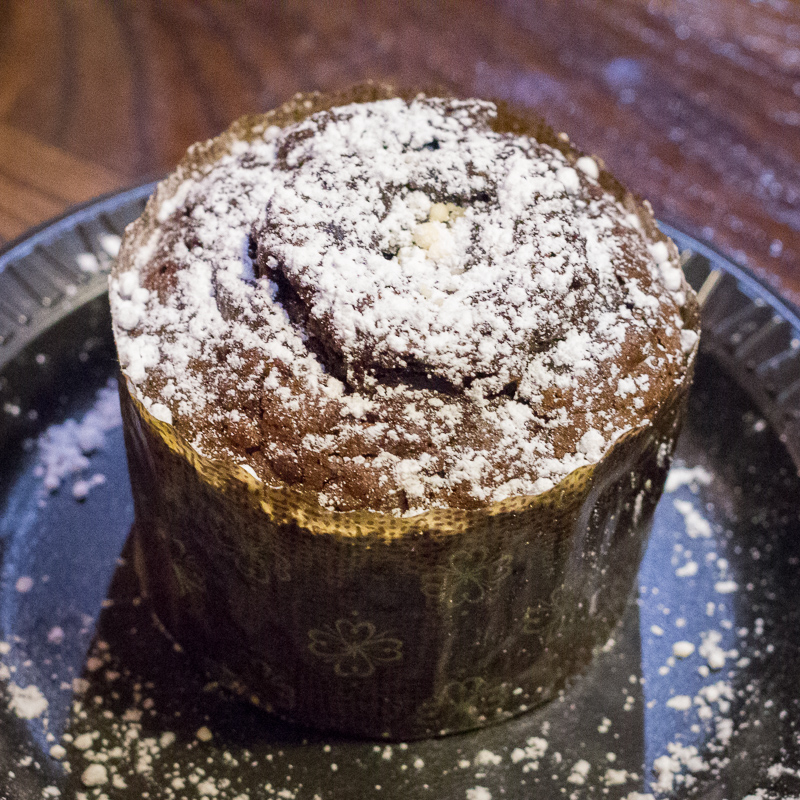Busch Gardens Williamsburg Food and Wine Festival 2017 Chocolate Lava Cake