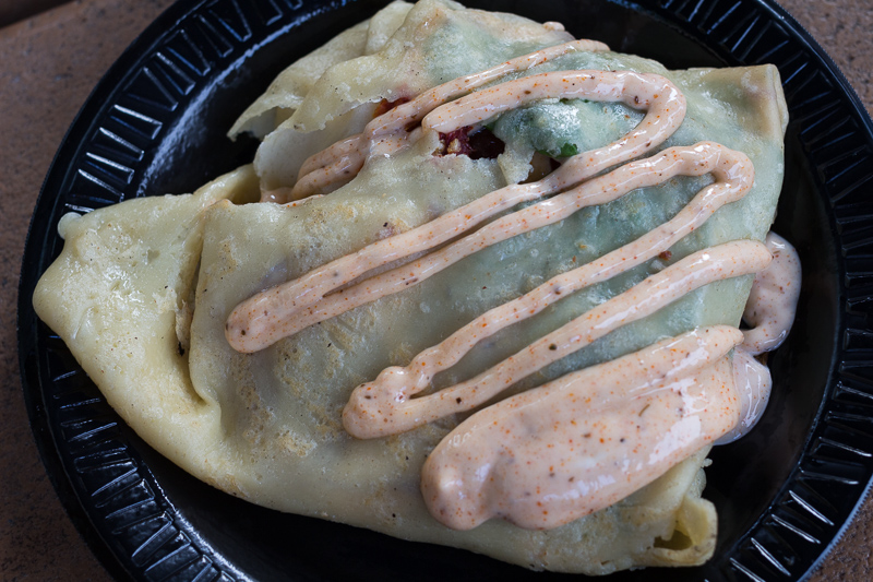 Busch Gardens Williamsburg Food and Wine Festival 2017 BLT Crêpe