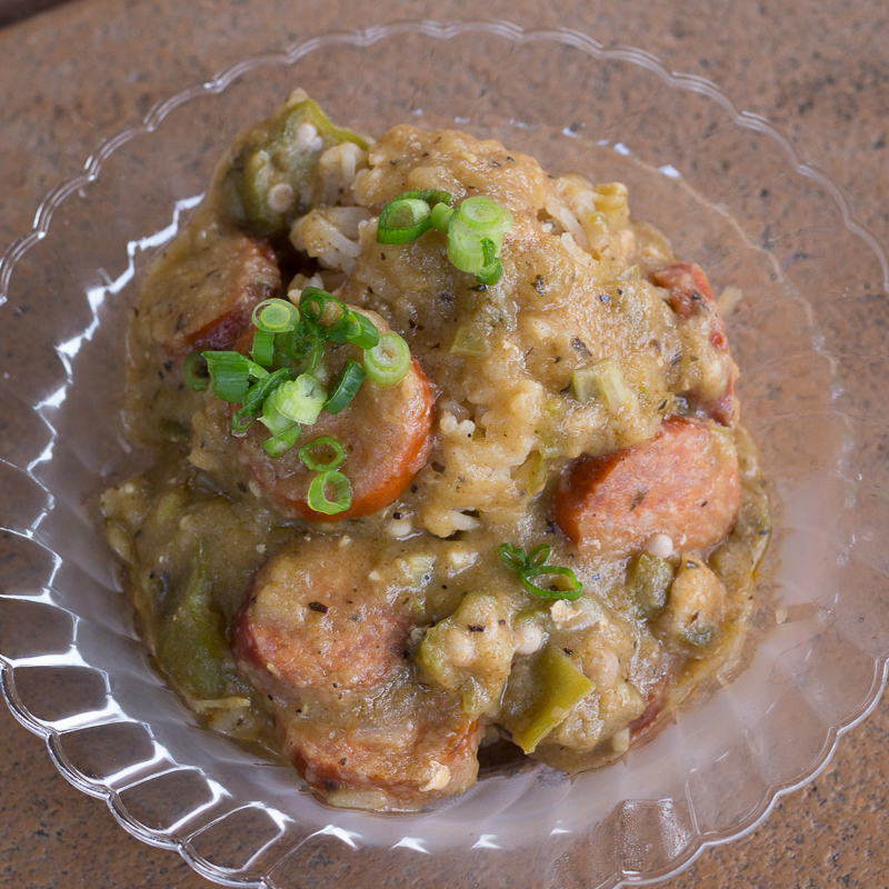 Busch Gardens Williamsburg Food and Wine Festival 2017 Chicken & Andouille Gumbo