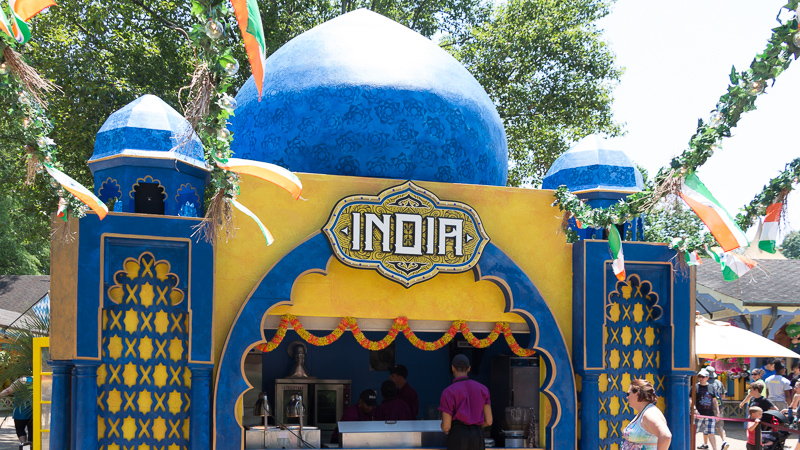 Busch Gardens Williamsburg Food and Wine Festival 2017 India
