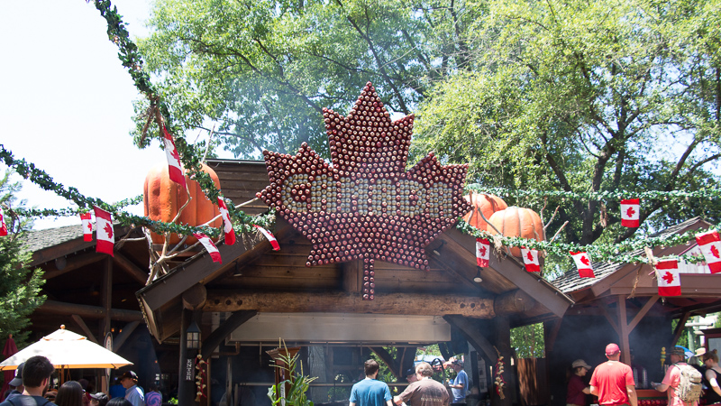 Busch Gardens Williamsburg Food and Wine Festival 2017 Canada