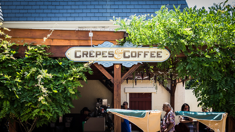 Busch Gardens Williamsburg Food and Wine Festival 2017 Crêpes & Coffee