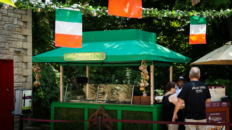 Busch Gardens Williamsburg Food and Wine Festival 2017 Ireland
