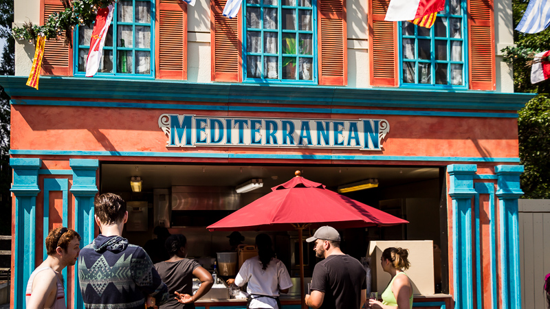 Busch Gardens Williamsburg Food and Wine Festival 2017 Mediterranean