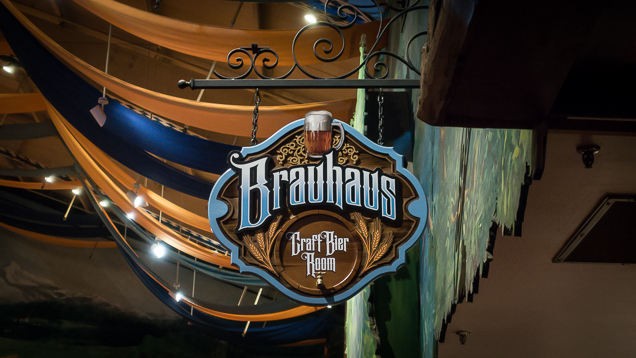 Busch Gardens Williamsburg Food and Wine Festival 2018 Brauhaus