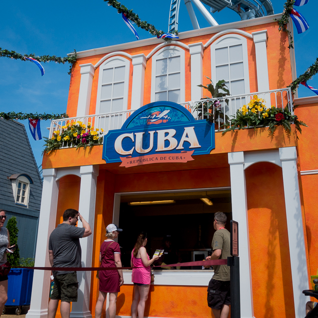 Busch Gardens Williamsburg Food and Wine Festival 2018 Cuba