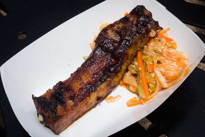 Busch Gardens Williamsburg Food and Wine Festival 2017 Korean BBQ Pork Ribs