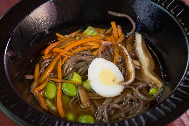 Busch Gardens Williamsburg Food and Wine Festival 2017 Soba Noodle Bowl