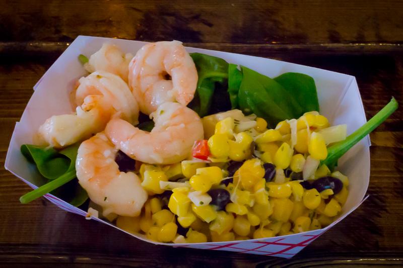 Busch Gardens Williamsburg Food and Wine Festival 2017 Mojo Shrimp