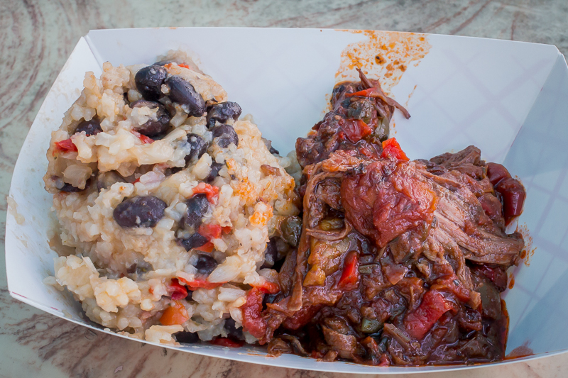 Busch Gardens Williamsburg Food and Wine Festival 2017 Ropa Vieja