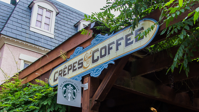 Busch Gardens Williamsburg Food and Wine Festival 2018 Crêpes & Coffee