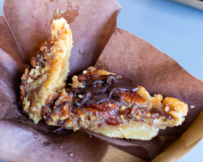 Busch Gardens Williamsburg Food and Wine Festival 2019 Pecan, Bacon & Chocolate Bars