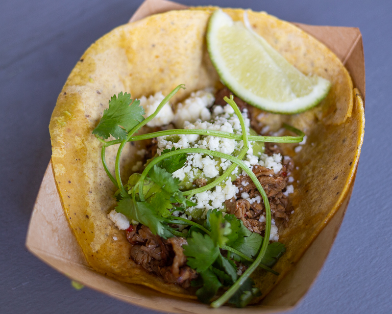 Busch Gardens Williamsburg Food and Wine Festival 2019 Carne Asada Taco