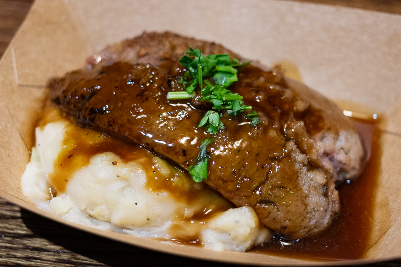 Busch Gardens Williamsburg Food and Wine Festival 2019 Bangers with Colcannon