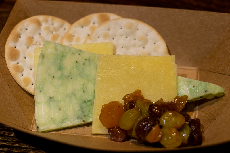 Busch Gardens Williamsburg Food and Wine Festival 2019 Irish Cheese Sampling
