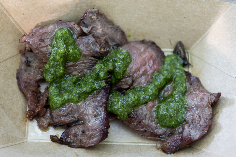 Busch Gardens Williamsburg Food and Wine Festival 2019 Churrasco