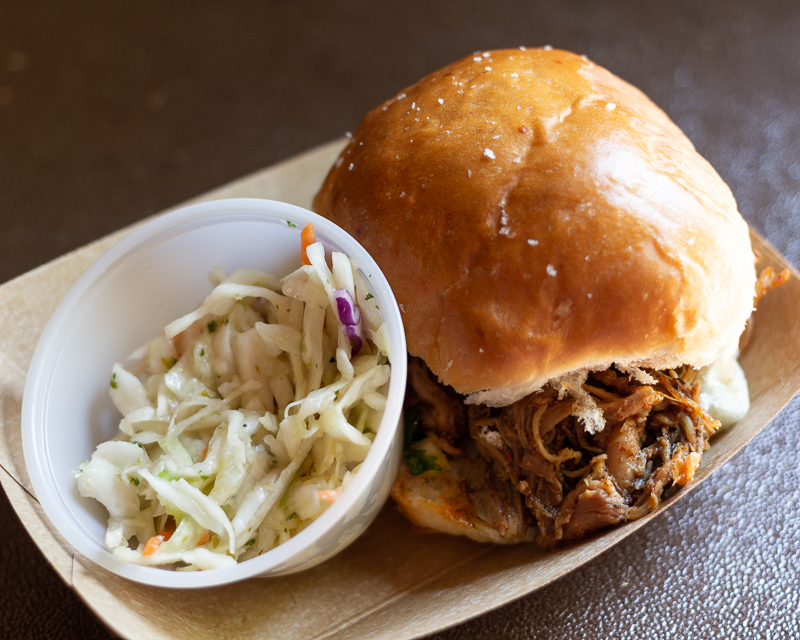 Busch Gardens Williamsburg Food and Wine Festival 2019 Jerk Chicken Slider