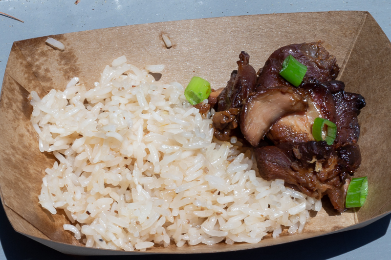 Busch Gardens Williamsburg Food and Wine Festival 2019 Chicken Adobo
