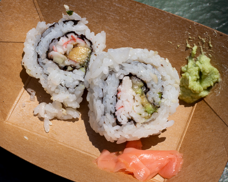 Busch Gardens Williamsburg Food and Wine Festival 2019 California Roll