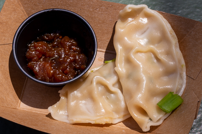 Busch Gardens Williamsburg Food and Wine Festival 2019 Mushi-Gyoza