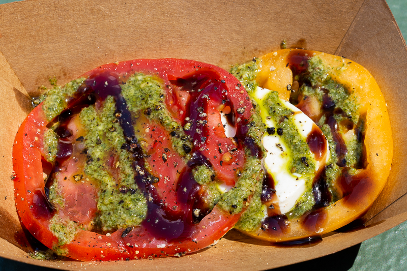 Busch Gardens Williamsburg Food and Wine Festival 2019 Caprese