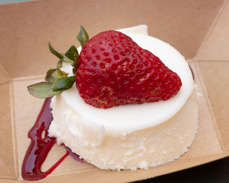 Busch Gardens Williamsburg Food and Wine Festival 2019 Panna Cotta