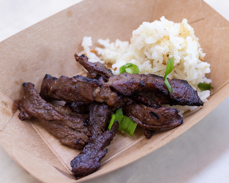 Busch Gardens Williamsburg Food and Wine Festival 2019 Beef Bulgogi