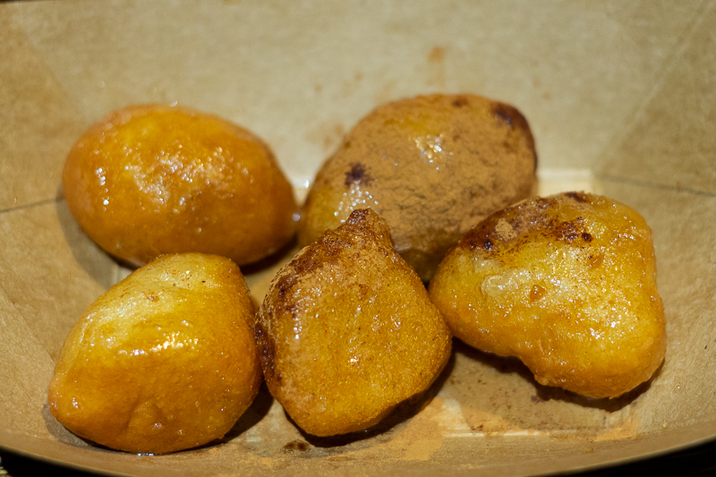 Busch Gardens Williamsburg Food and Wine Festival 2019 Loukoumades