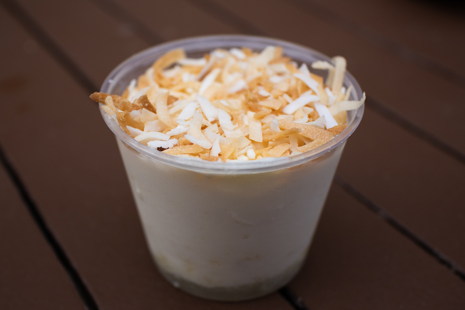 Busch Gardens Williamsburg Food and Wine Festival 2019 Pineapple Coconut Mousse